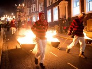 Bonfire societies parade